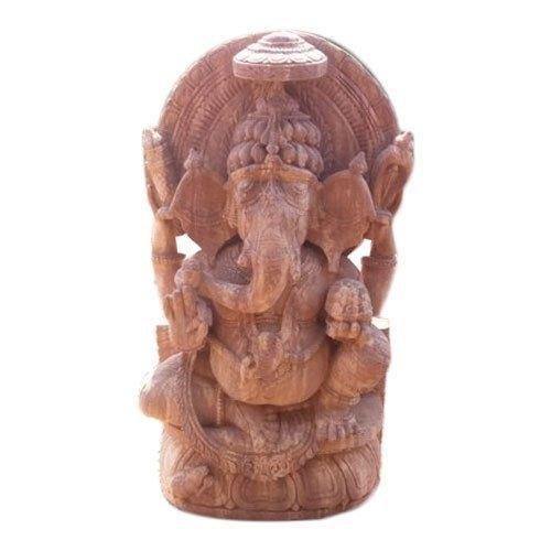 6 Feet Sandstone Ganesh Statue