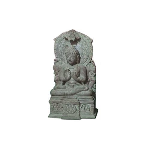 3 Feet Pink Stone Buddha Statue