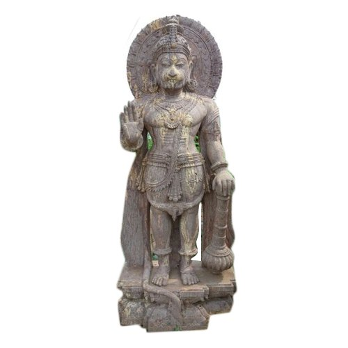 5 Feet Sandstone Hanuman Statue