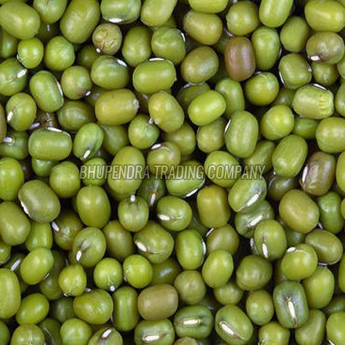 Polished Green Moong Dal