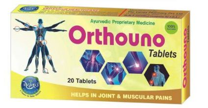Orthouno Arthritis Pain Relief Tablets