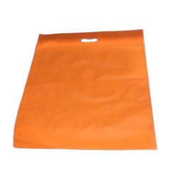 Orange D Cut Non Woven Bag