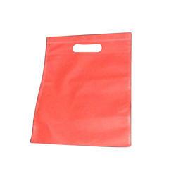 Red D Cut Non Woven Bag