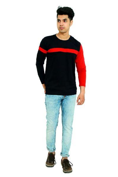 Mens Color Block T Shirt