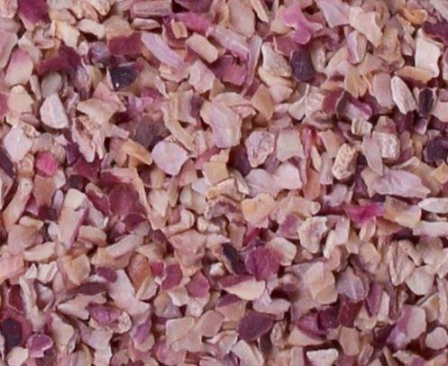 Dehydrated Pink Onion Chopped