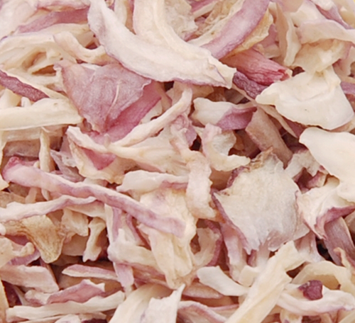 Dehydrated Pink Onion Kibbled