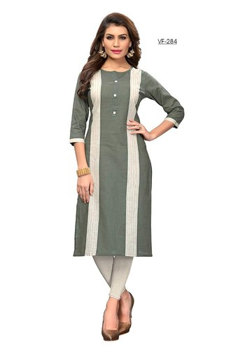 Formal Wear Cotton Kurti