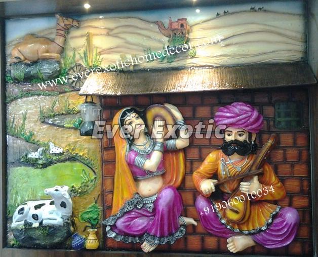 Rajasthani Mural 01
