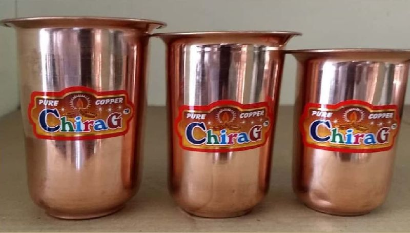 Milk Copper Glass