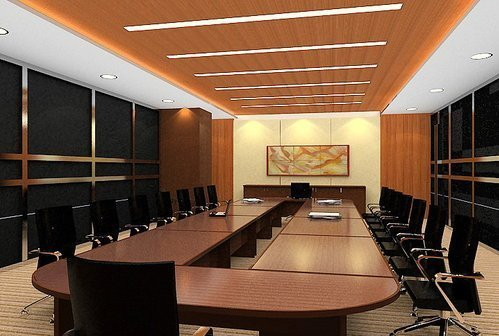 Acoustic Treatment For Conference Room