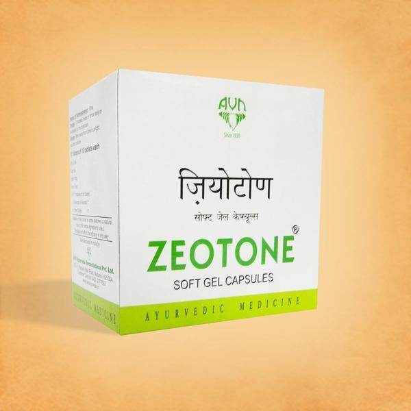 Zeotone Soft Gel Capsules