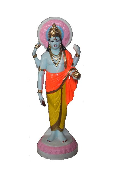 Dhanwantari Clay Statue