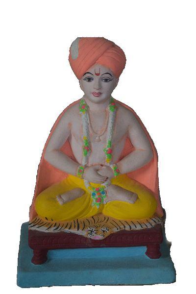 Dyandev Clay Statue