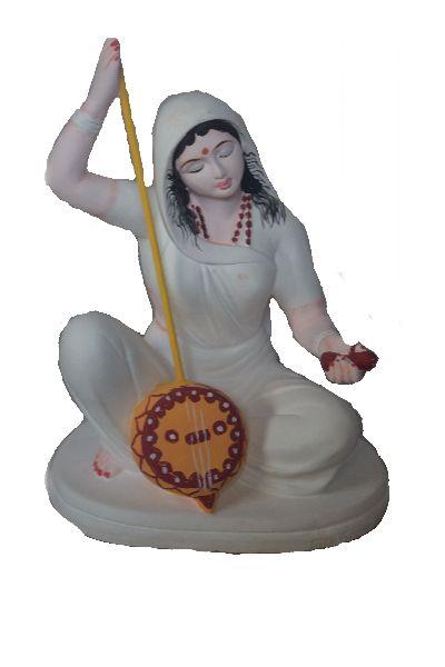Meera Bai Clay Statue