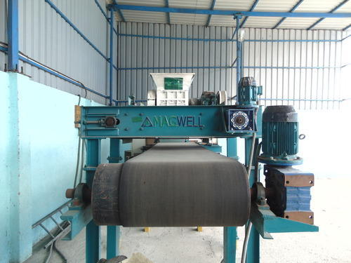 Inline Overband Magnetic Separator