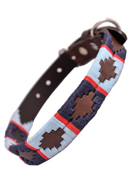 Leather Polo Dog Collar