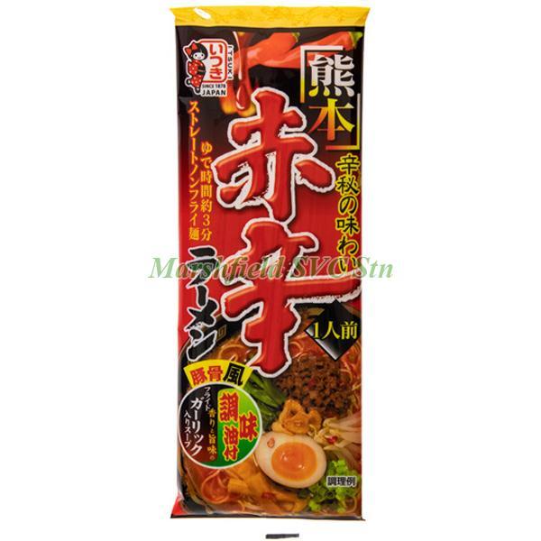 Itsuki Kumamoto Red Hot Spicy Ramen