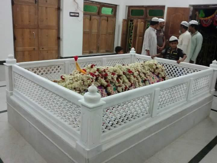 Carved Marble Mosque Grill