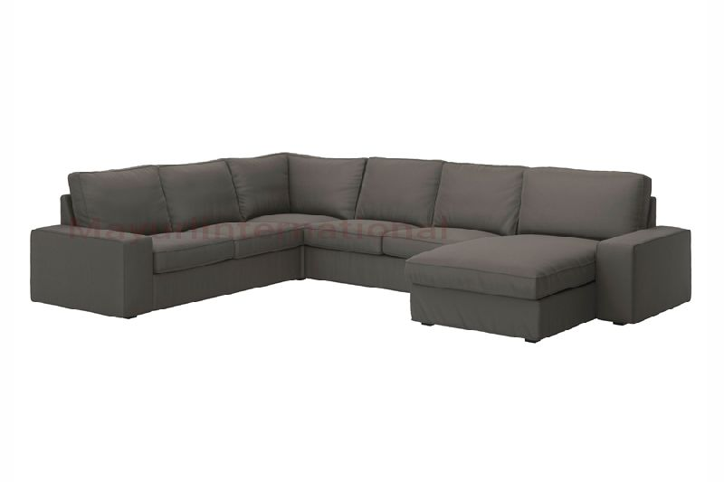 LSFS-004 L Shape Fabric Sofa