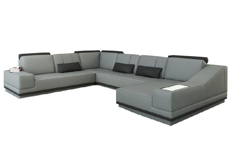 LSLS-016 L Shape Leatherite Sofa