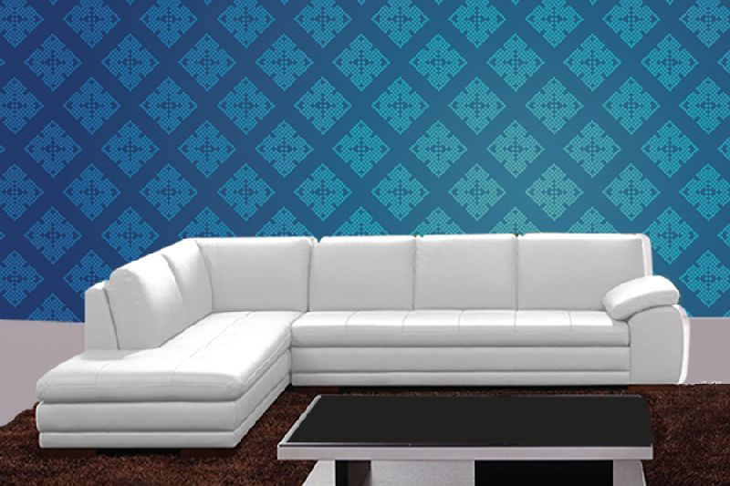 LSLS-059 L Shape Leatherite Sofa