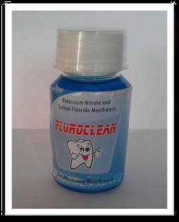 100ml Fluroclean Mouthwash