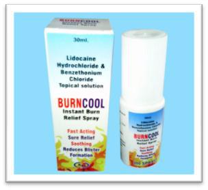 30ml Burn Cool Spray