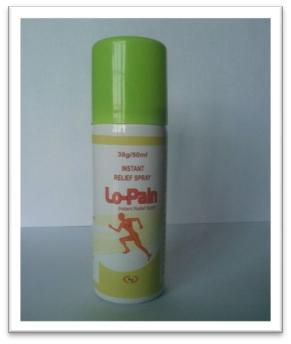50ml Lo-Pain Spray