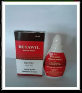 Betawil Mouth Paint