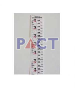 Height Measuring Chart