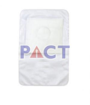 White Colostomy Bag