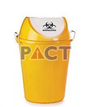 Yellow Colour Waste Bin