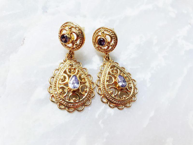 JR-ER002 Gemstone Earrings