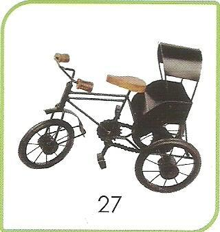 Handicraft Rickshaw