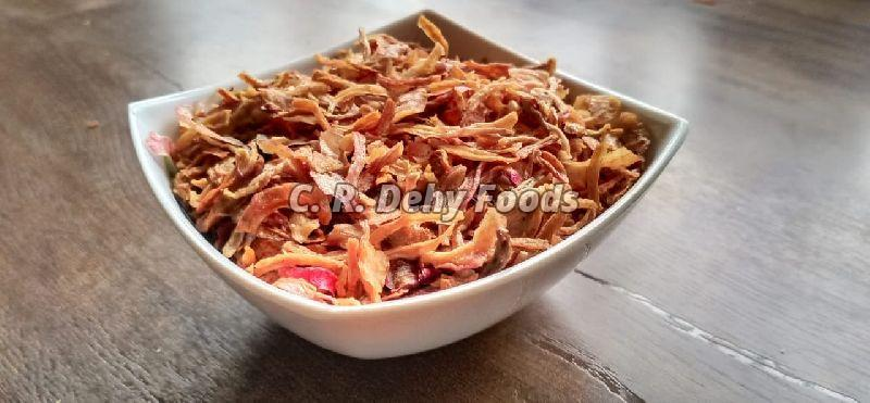 Pink Fried Onion Flakes