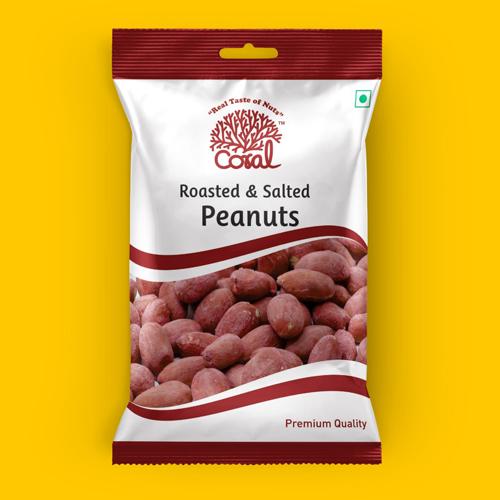 Roasted & Salted Peanuts with Husk