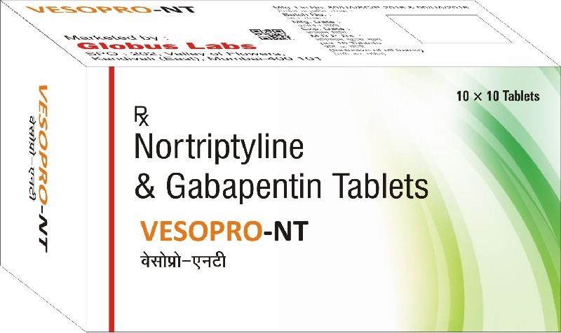 Nortriptyline & Gabapentin Tablets