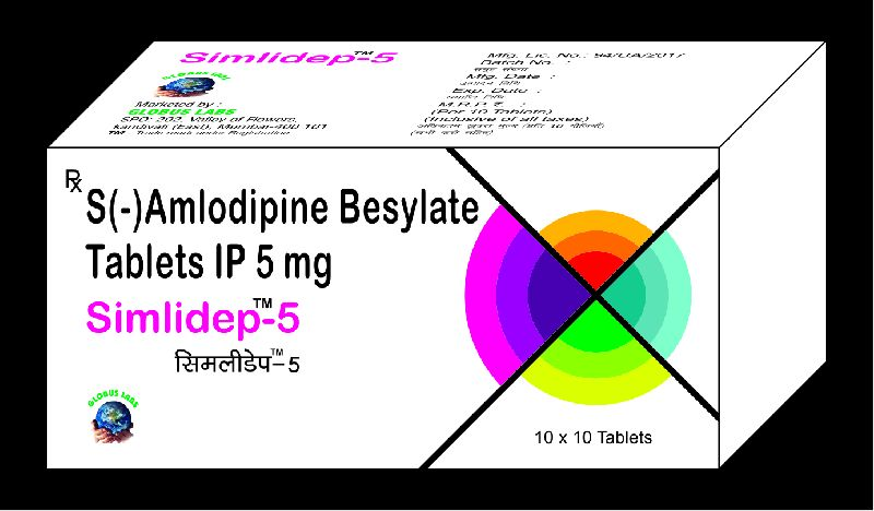 S-Amlodipine Besilate Tablets