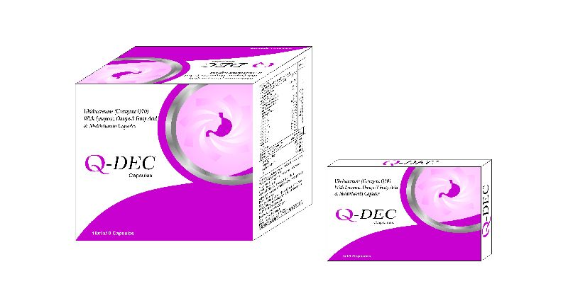 Ubidecarenone Coenzyme Q10 Capsules