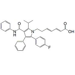 Atorvastatin 2,3,4,5-Dianhydro Acid