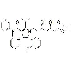 Atorvastatin 2-Fluoro t-Butyl Ester