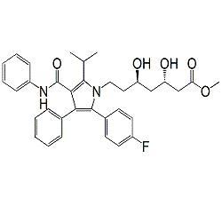 Atorvastatin (3S,5R)-Isomer Methyl Ester
