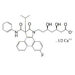 Atorvastatin Pyrrolidone Phenanthrene Calcium