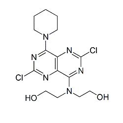 Dipyridamole Dichloro Dihydroxyethyl Impurity