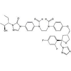 Posaconazole Desethylene Diformyl Impurity