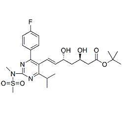 Rosuvastatin (3R,5R)-Isomer t-Butyl Ester