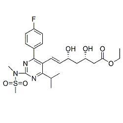 Rosuvastatin (3S,5R)-Isomer Ethyl Ester