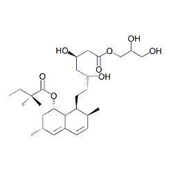 Simvastatin Acid Glycerol Ester