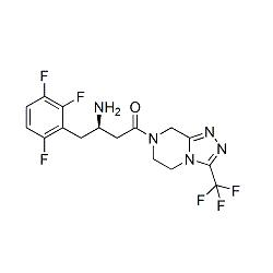 Sitagliptin 4-Desfluoro 2-Fluoro Impurity