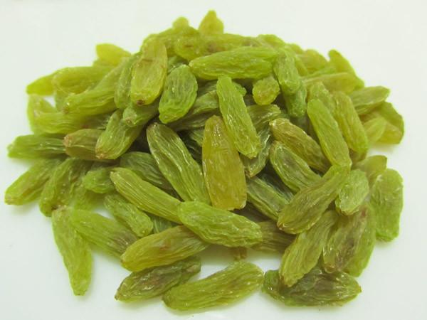 Dry Green Raisins